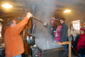 Sugaring Off at Stamford Museum and Nature Center