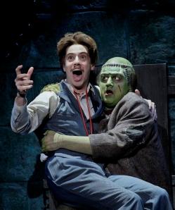 Dr. Frankenstein and Monster