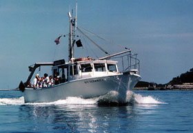 Oceanic Research Vessel