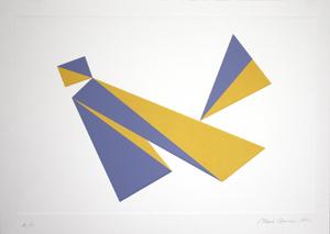 Kite - Charles Hinman and Master Printer Gary Lichtenstein
