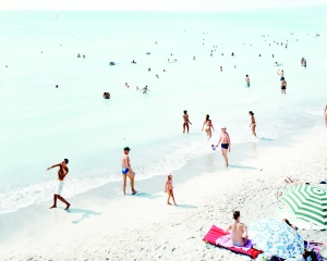 Massimo Vitali, Rosignano Donna Sola, 2004.  C-print with Diasec face; edition of 6. Hall Collection. Courtesy the Artist.