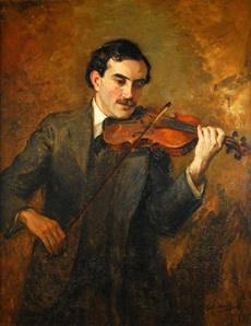 Nelson portrait of Arturo Toscanini Credit: Kent Historical Society