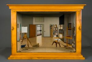 Perspective Box Jimmy Sanders (American, b. 1963) Perspective Box, 2007 Wood, oil paint, 28 x 36 x 28 in. New Britain Museum of American Art, New Britain, CT Photo courtesy of Hirschl & Adler Modern, New York