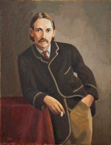 Robert Louis Stevenson, by Duncan Hannah