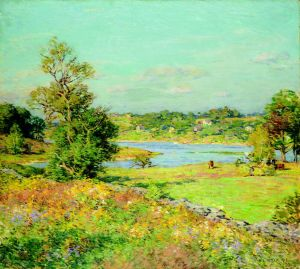 Metcalf_Autumn  Willard Leroy Metcalf, (American, 1858-1925)