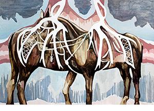 Stass Shpanin | The Last Sigh of Sleipnir | Oil on Canvas | 64 x 94 | 2013