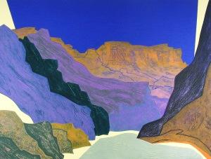 """Clare Romano, """"Silver Canyon"""""""
