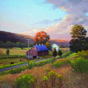 Thomas_Adkins_Golden_Rod_Fields-Woodbury_24x24_oil_-