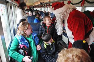 RMNE Santa with passengers small