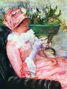 The cup of tea by Cassatt.jpg