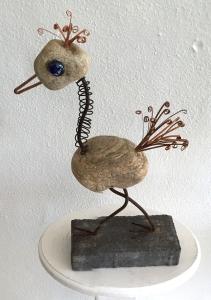 Dennis Bialek  bird sculpture