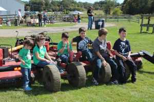 Kids on Farm Equipment