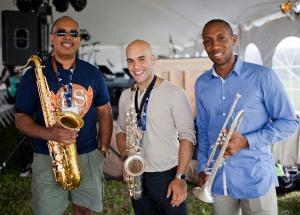 Don Braden, Albert Rivera, Nick Roseboro – photo credit: Dale Rothenberg