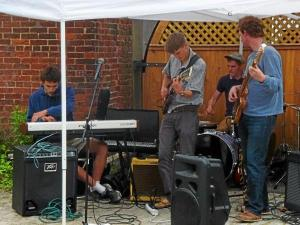 Local band Branchwater performed in Cobble Court during Litchfield's inaugural Night Out in June. (Register Citizen File Photo)