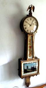 Presentation Banjo Clock