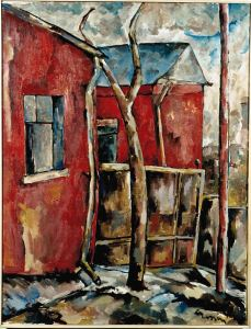 cronin_red-houses-1958-26-x-20_