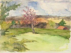 Topsmeade by Nancy Pistone  watercolor