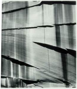 Brett Weston (1911 – 1993)  Untitled (Rock Wall), 1975 Gelatin silver print, 8 x 10 in. Gift from the Christian Keesee Collection, 2015 Bruce Museum Collection
